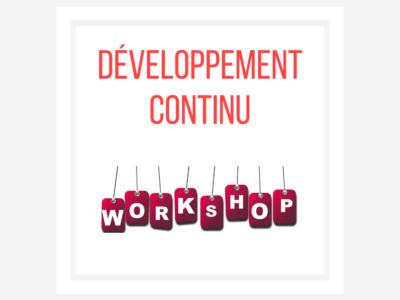 Le développement continu : un investissement nécessaire